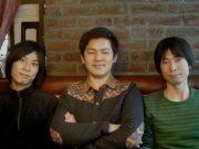 From left: Kyohei Teshima (CGO), Keisuke Shibata (CEO), and Akira Kudo (web developer)