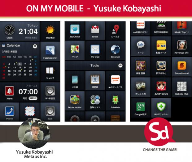 YUSUKE-on-my-mobile