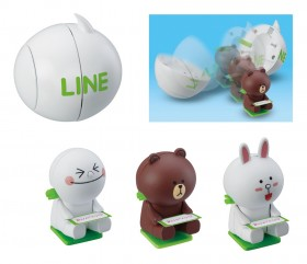Line pop-up toy