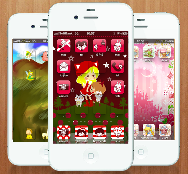 5 Cute Japanese Apps That Let You Customize Your Mobiles Homescreen