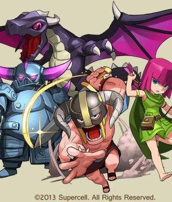 puzzle-dragons-clash-of-clans