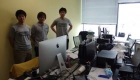 The Plannah development team at Mixi's Innovation Center