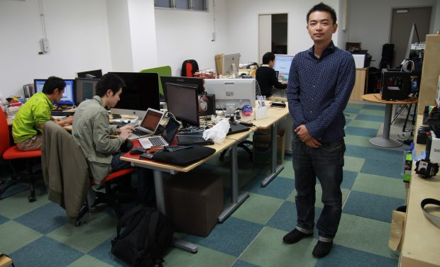 CEO Soko Aoki at the Kadinche office