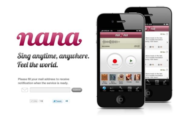 Japan's social music app Nana releases Android version | THE BRIDGE