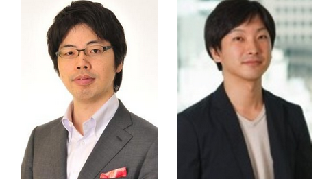 From the left: Co-founder Kenji Kasahara and the current CEO Yusuke Asakura