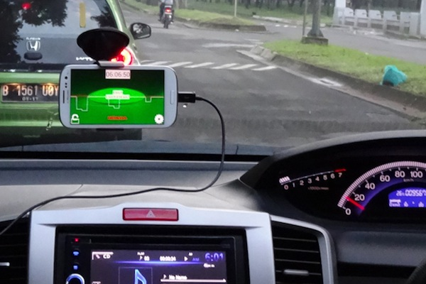 Honda begins trials of anti traffic jam app in jakarta for Honda car app