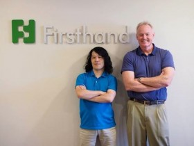 Telepathy's Takahito Iguchi, chief investment officer of Firsthand Kevin Landis
