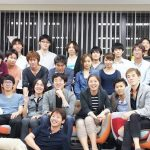 The Interest Marketing team. CEO Hikari Sakai is in front.