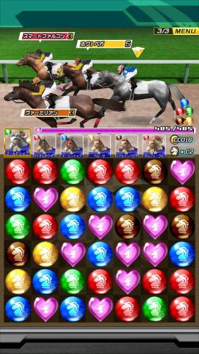 Puzzle Derby: Japan's latest puzzle/RPG hit is a horse racing game