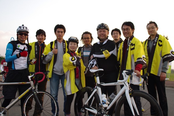 The Lemonade team at Tour de Tohoku 2013