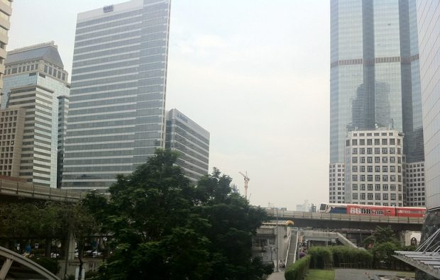 Skyscrapers from Chong Nonsi station
