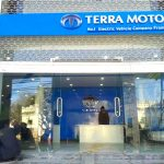Terra Motors showroom in Nepal