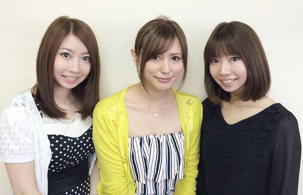From the left: Tomomi Kuwayama (CTO), Arisa Sakanashi (director), and Yoshimi Kuwayama (CMO)