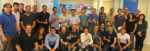 Participants in the fifth batch of incubation program, Microsoft Ventures accelerator Tel Aviv.