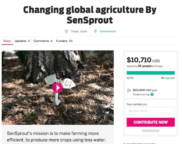 sensprout-on-indiegogo