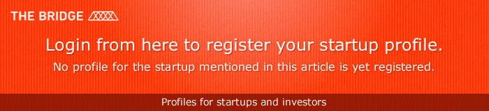 Login from here to register your startup profile