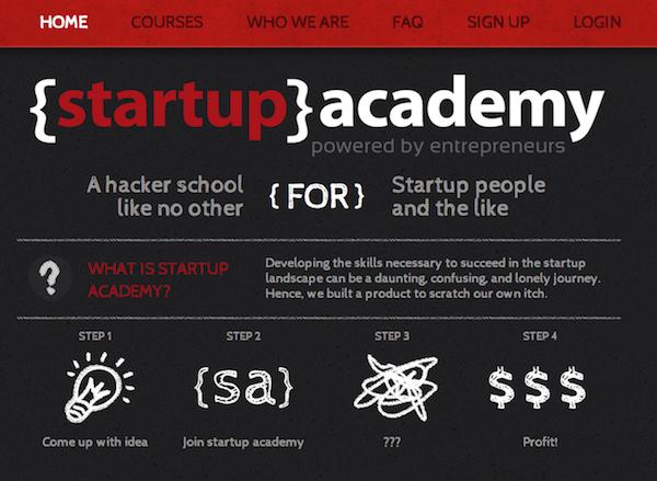 スタートアップ向けのハッカースクール「Startup Academy」は起業家にデザインとコーディングを教える - THE BRIDGE(ザ・ブリッジ)