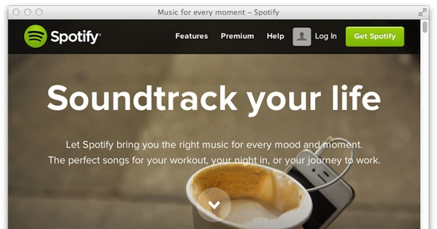 spotify-home-page