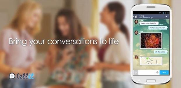tellit-gree-mobile-chat-app