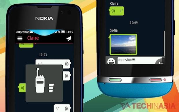 WeChat-Nokia-Asha-app
