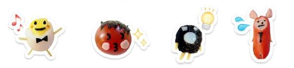 Gochi-Reco-characters