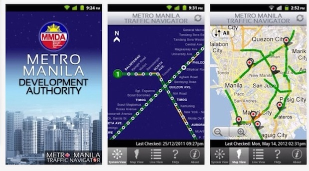 MMDA Traffic Navigtor