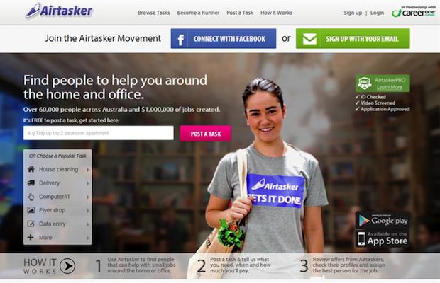 crowdsourcing Airtasker