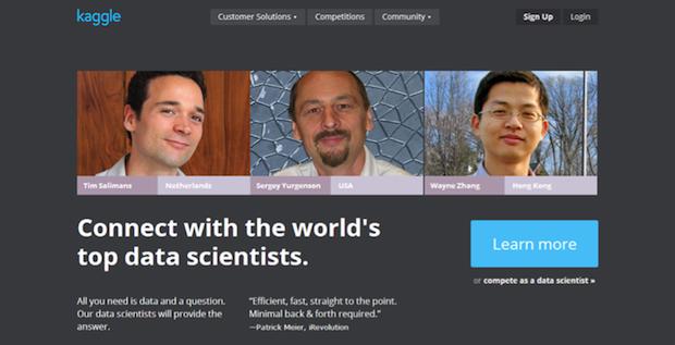 crowdsourcing Kaggle