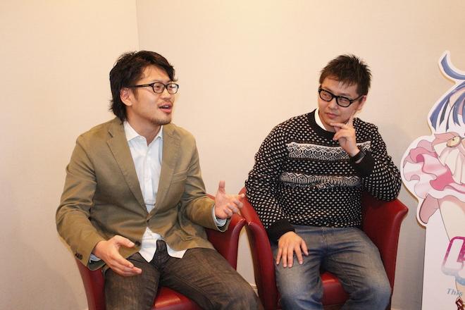 左が安江氏、右が一岡氏