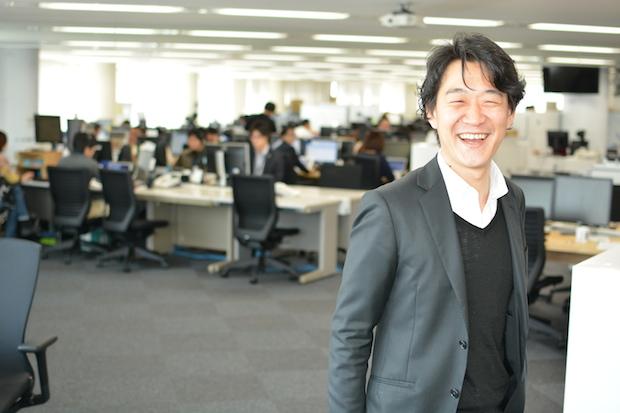 Eight のマーケティング担当ディレクターを務める、千住洋氏。