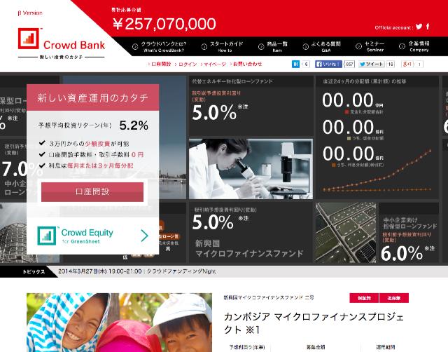 Crowd_Bank<クラウドバンク>_新しい投資・資産運用のカタチ。ソーシャルレンディング