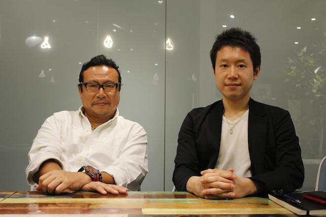 渡邉氏(左)と武石氏(右)