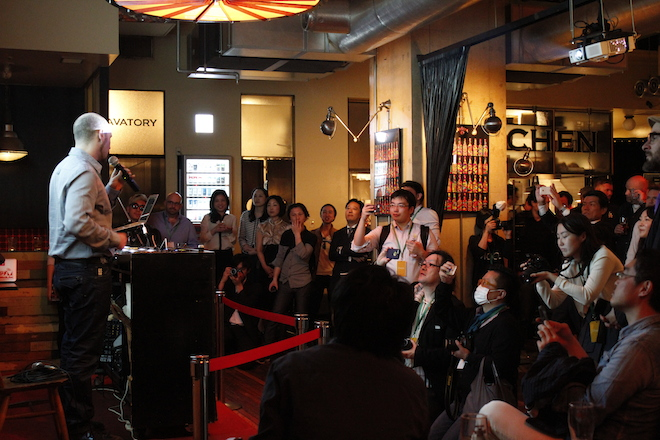 本日開催されたMoneytreeのパーティでもiPad版のリリースを発表