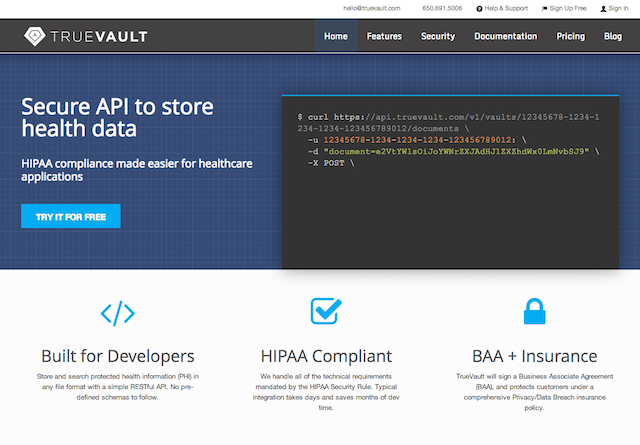 TrueVault_-_HIPAA_compliant_data_store