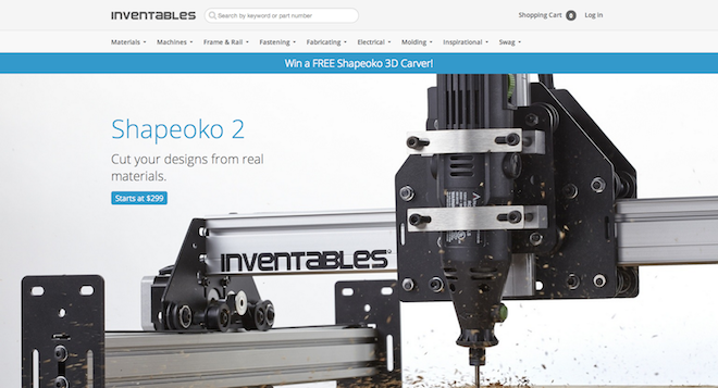 Inventables  The Hardware Store for Designers