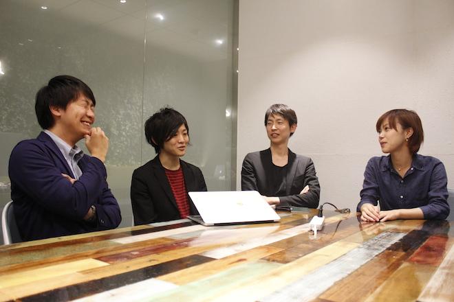 左から伊藤氏、吉田氏、角川氏、石根氏