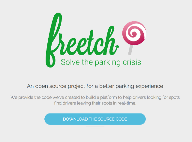 Freech_open_source_project_for_parking