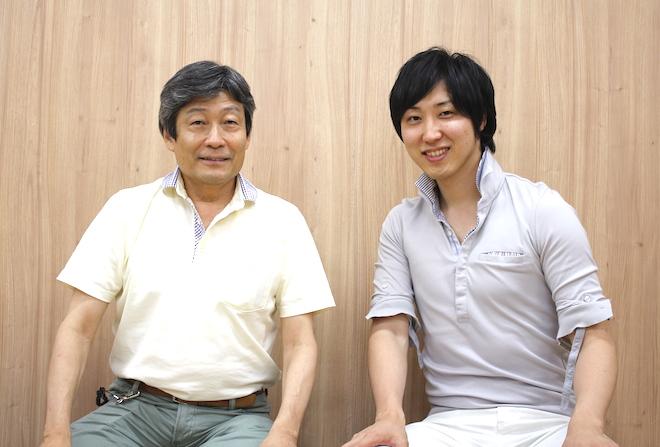 左:乗松氏、右:溝口氏