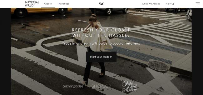 Material-Wrld-website