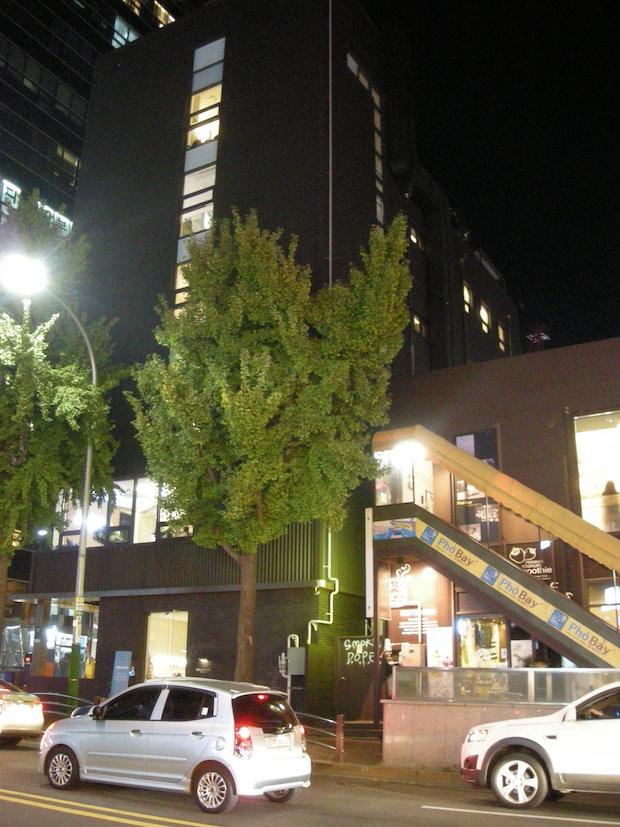 チャムウォンにある、TriBeluga のインキュベーション・オフィス(外観)。