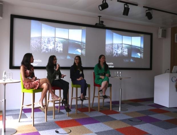 Geekettesのデモデイでは、女性ベンチャーキャピタリストによるパネルディスカッションんも開催