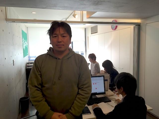 ギャラクシーエージェンシー代表取締役の金谷元気氏。