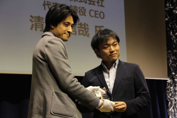 AgIC代表取締役 CEOの清水信哉氏