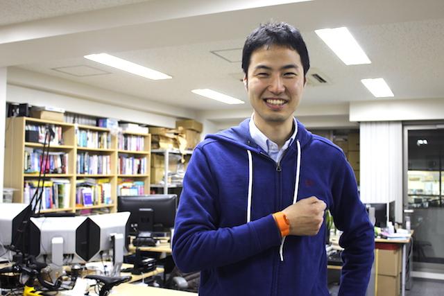 Moff 代表取締役の高萩昭範氏