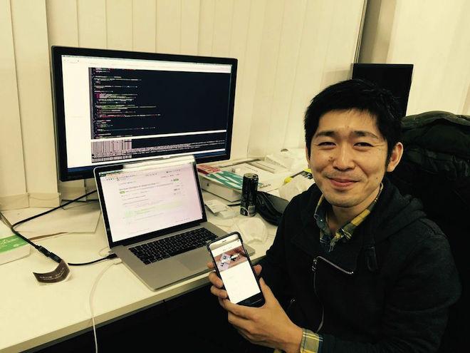 今回のWantedly Adminの機能アップデートを'担当したエンジニアの森田 直樹氏