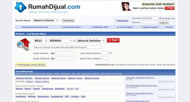 rumahdijual-website