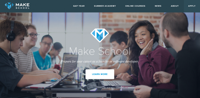 Make-School-website