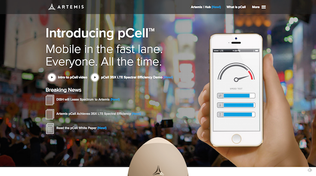 Artemis pCell Wireless Technology
