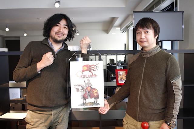 左:オリフラム代表池田氏 右:オリフラム取締役岩尾氏