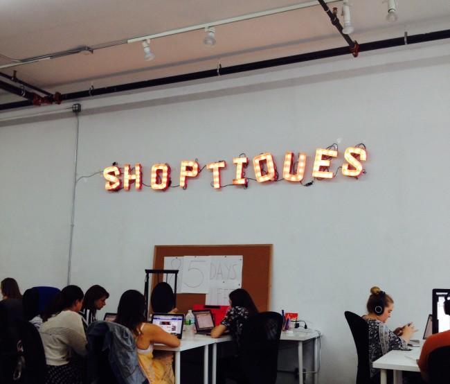 NYのShoptiquesのオフィス